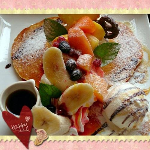 2015・3・14・フルーツパンケーキ