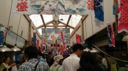 久礼 大正町市場(アーケード)