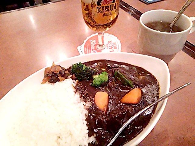 kirin city(キリンシティ) 黒ビールカリー