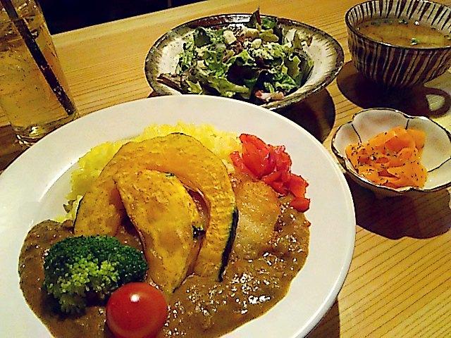農家レストラン耕(カルチェ) 野菜たっぷり菜園カリー