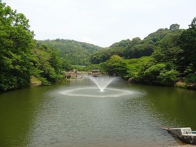 赤塚山公園 噴水