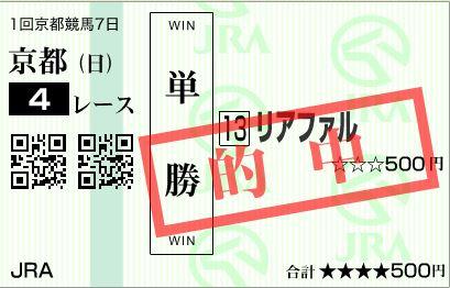 京都4R単