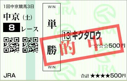 中京8R単