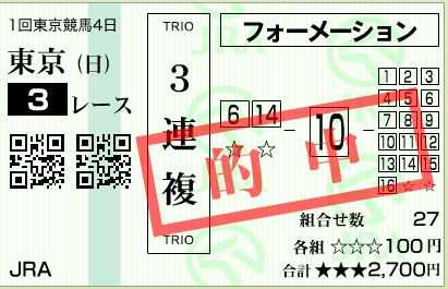 東京3R3複