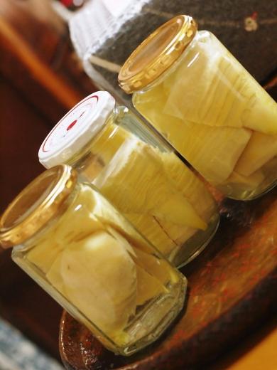 自家製・ニャヲハタ製・筍の水煮瓶
