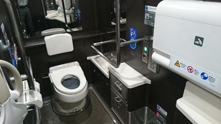 北陸新幹線トイレ