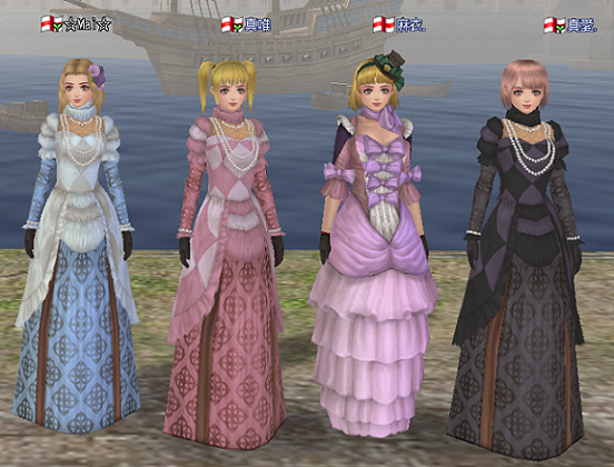 4姉妹ドレス