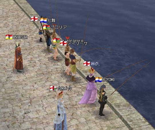 イベント釣り