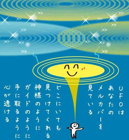 UFOは見ている