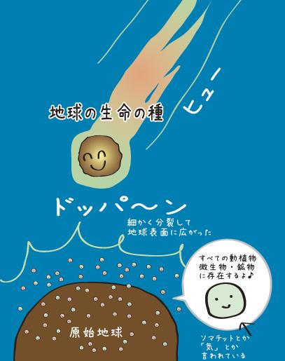 地球生命体隕石