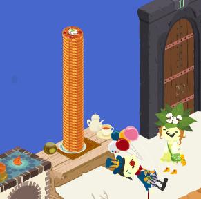 噂のパンケーキタワー