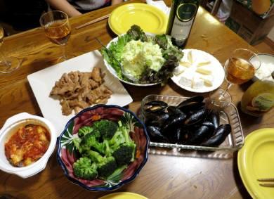2015_01 20_カリフラワーと夕食