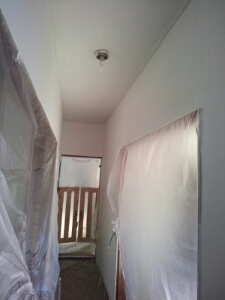 壁塗り中4