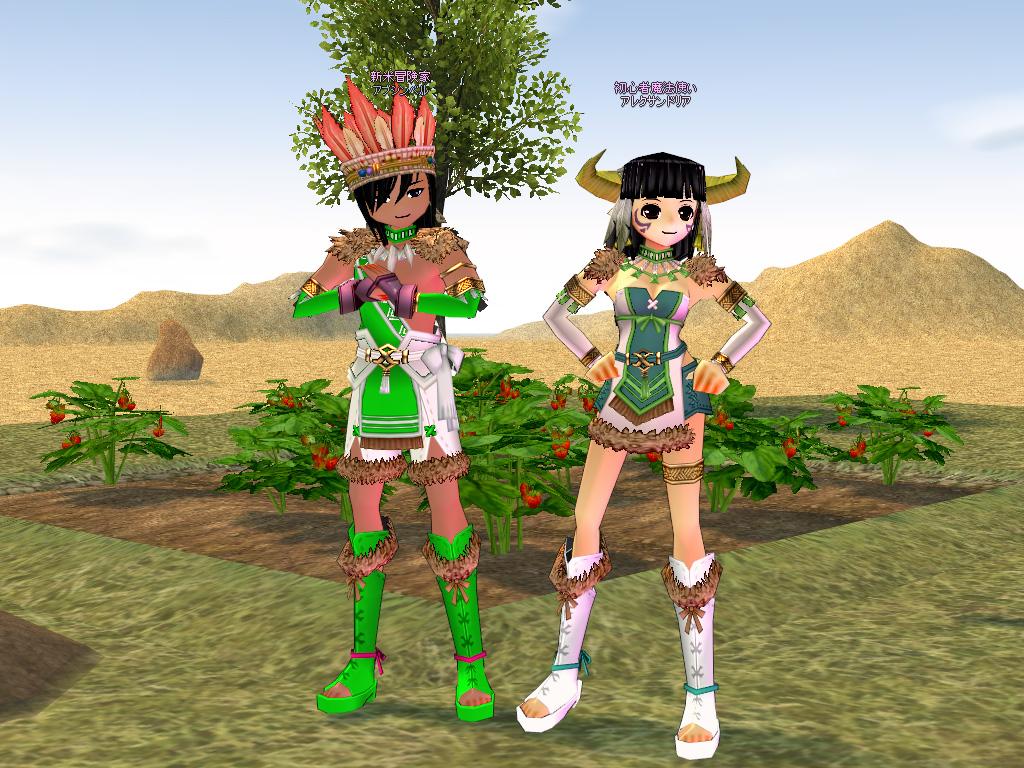 シャマラの衣装2