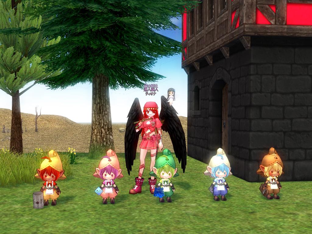 ティオナ5妖精