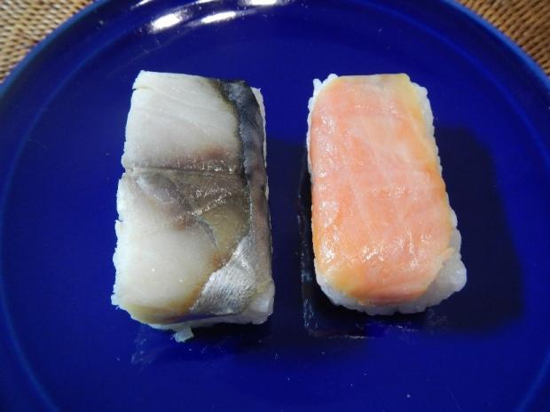 柿の葉寿司 (4)