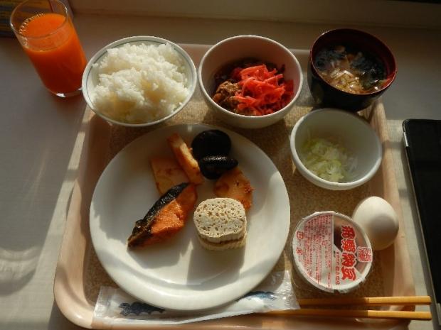 高山出張ホテル朝食