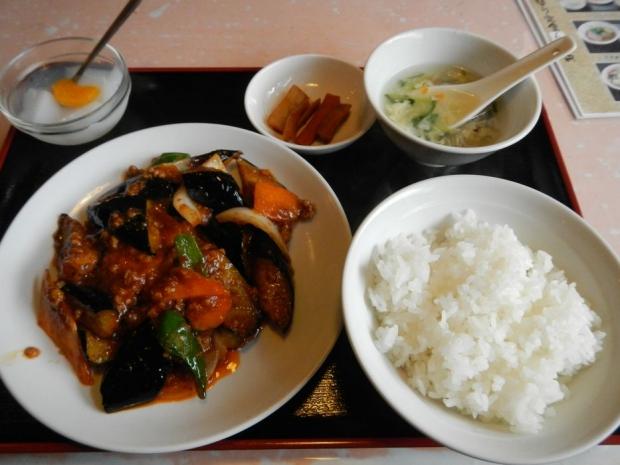 麻婆茄子定食@香味楼 (2)
