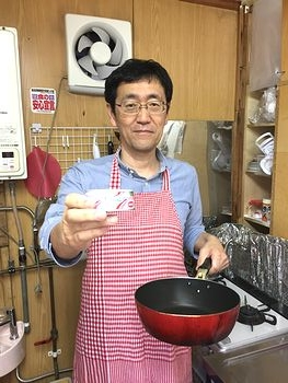 社長のツナ缶料理