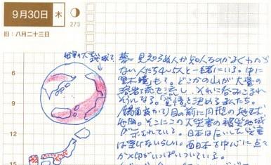 世界火山噴火夢の図