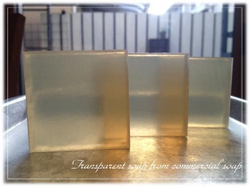 市販の石けんから作る透明石けん01