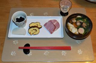 お正月の朝食
