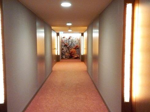 4 客室の廊下