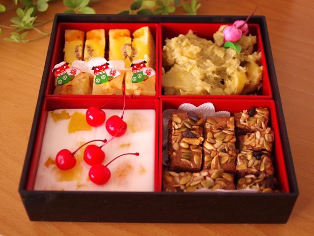 スイーツおせちお菓子のおせちmeloncafe201508