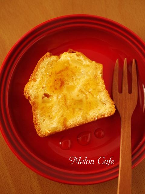 りんごのカラメルシロップでアップル倍増パウンドケーキ03