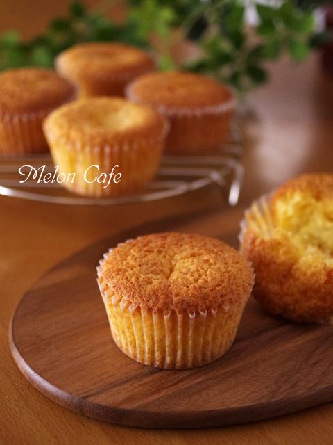 栗の甘露煮まるごと簡単はちみつカップケーキ