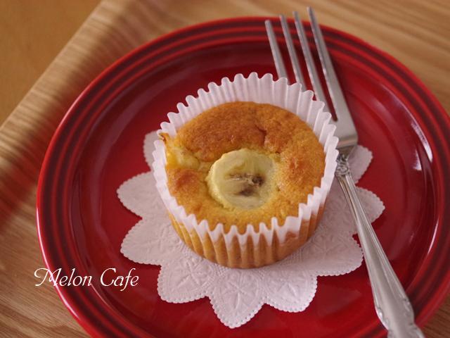 簡単はちみつバナナのカップケーキ04