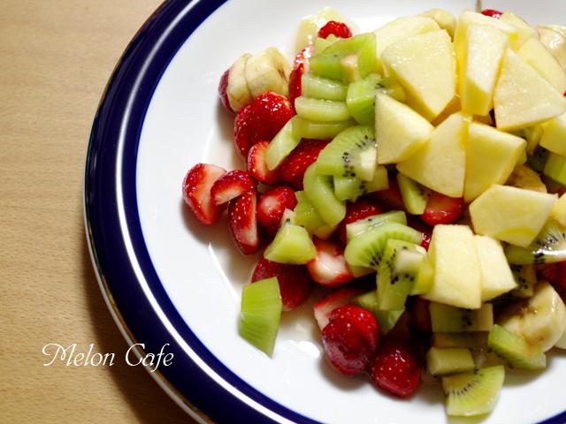 フルーツのはちみつジャーサラダ01