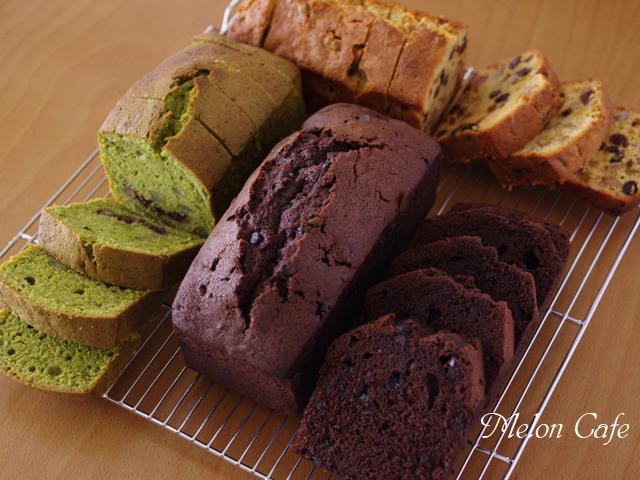 抹茶とあずきの和風栗パウンドケーキ簡単おいしいおもてなしa