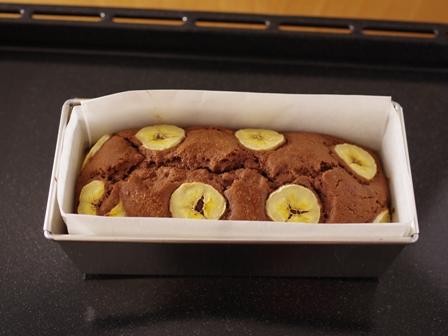 ホットケーキミックスでつくるチョコバナナパウンドのケーキ05