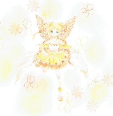 ひまわりの妖精