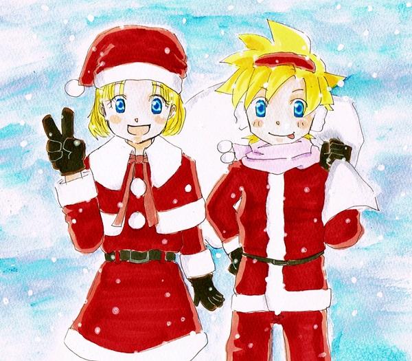 クリスマス双子