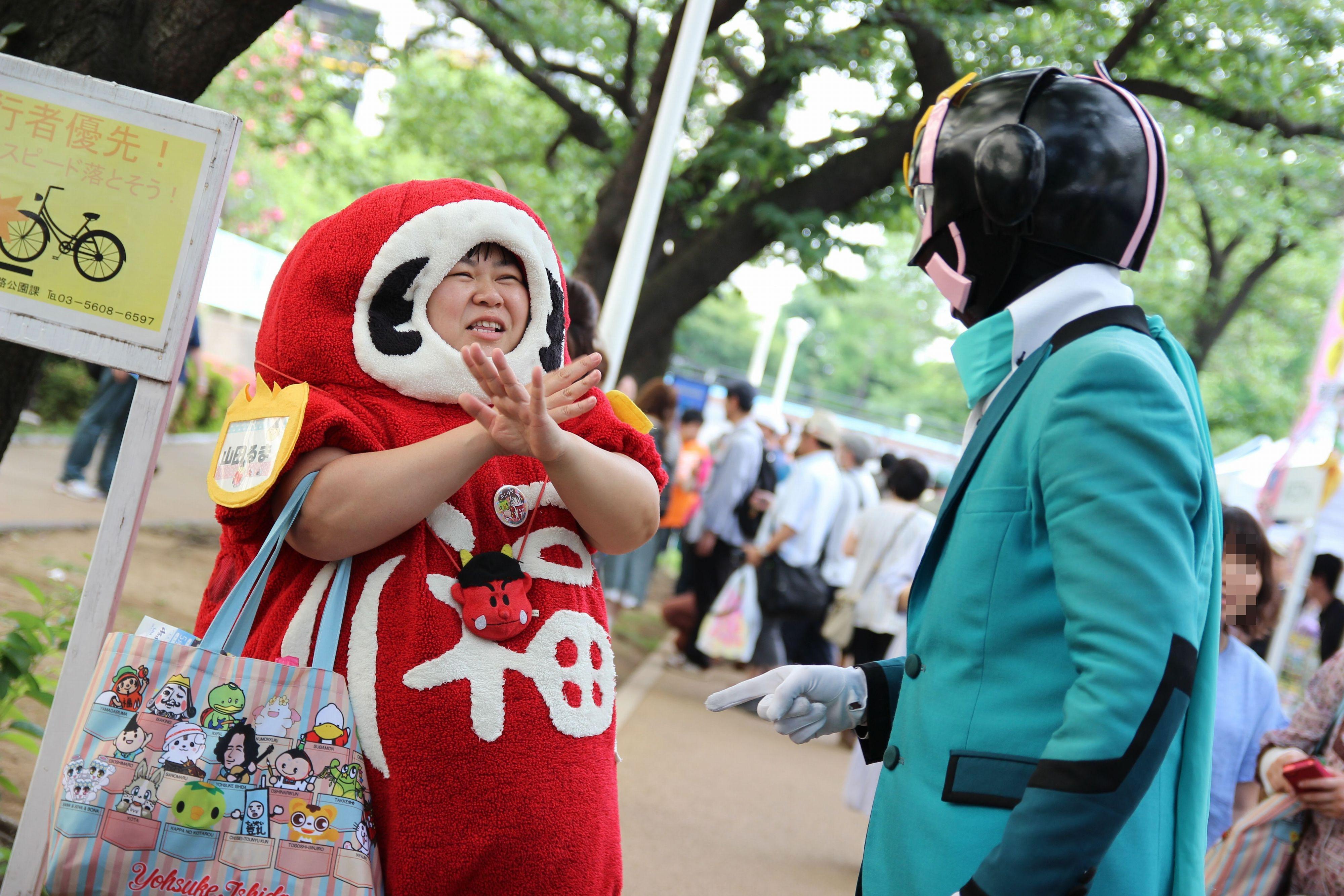 ご当地キャラクターフェスティバル in すみだ2015~ 墨田区・東京スカイツリータウン ・地元商店街墨田区観光協会が一丸となって域を盛り上げます ~1日目
