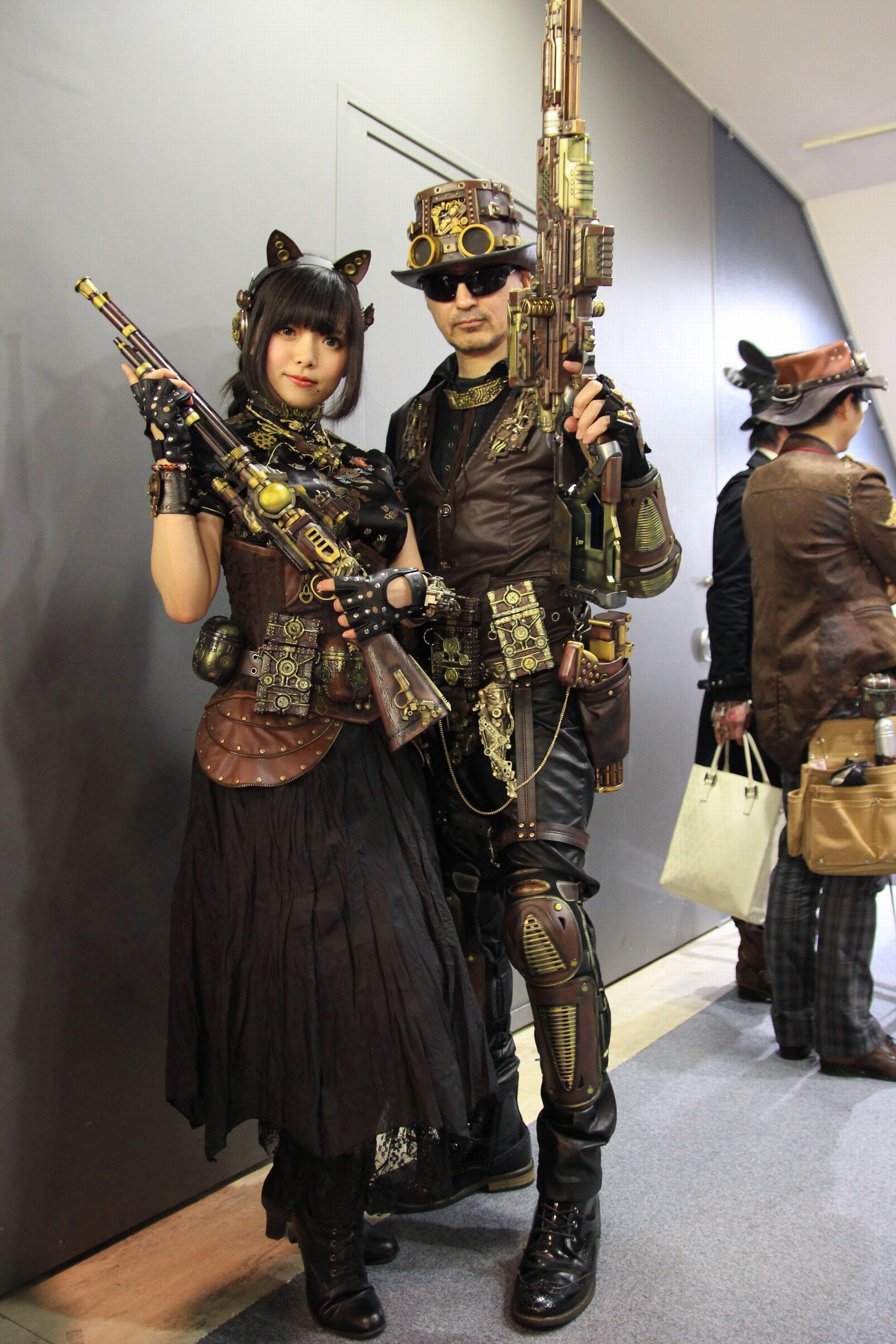Steam Garden スチームガーデン8 @ ラフォーレ原宿~洋~ゴシック・レザーマスク・ペストマスク・ガントレット・傭兵集団~