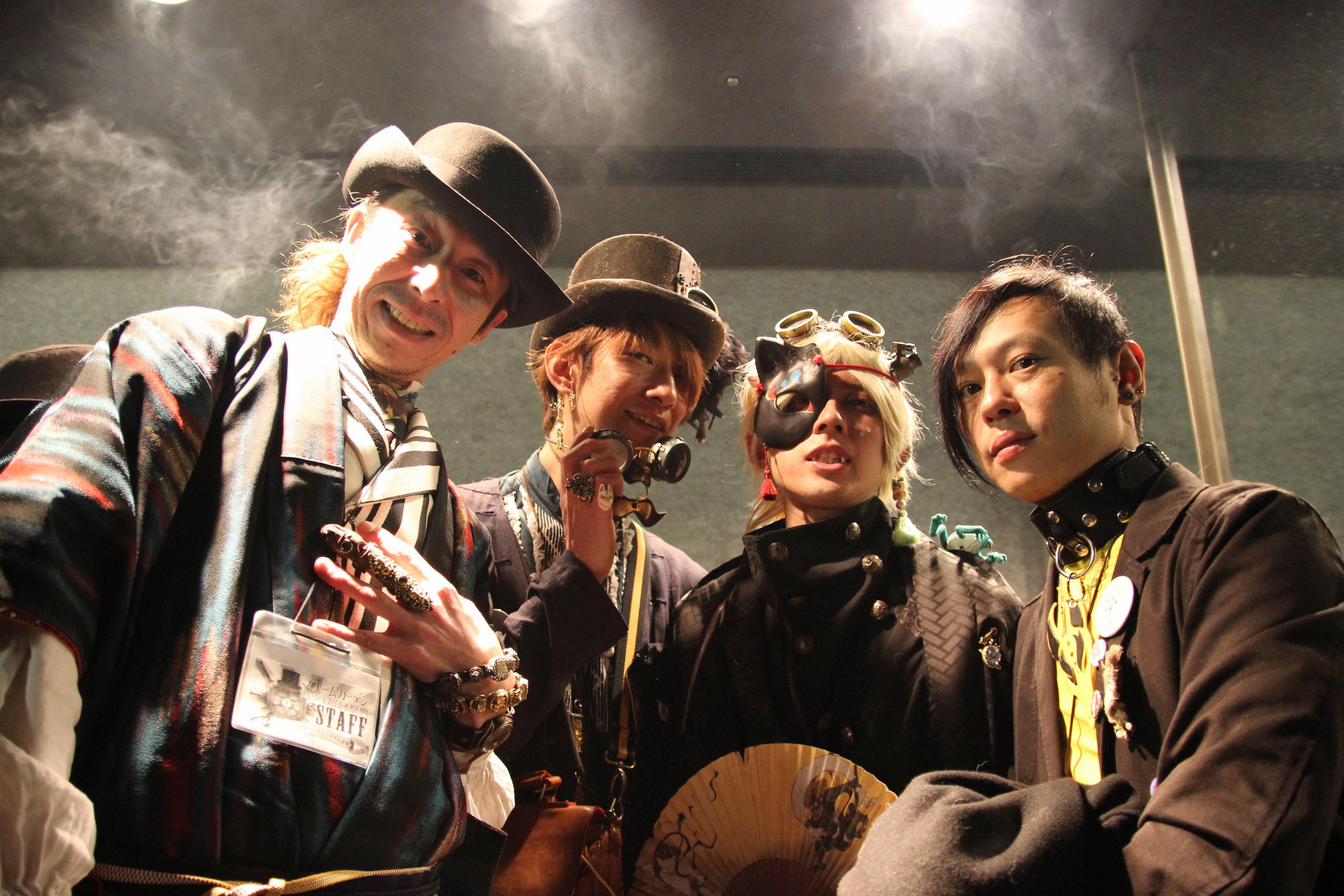 Steam Garden スチームガーデン8 @ ラフォーレ原宿~和~着物・ウサギ・狐・烏天狗・虚無僧・農民・花魁・風神&雷神~