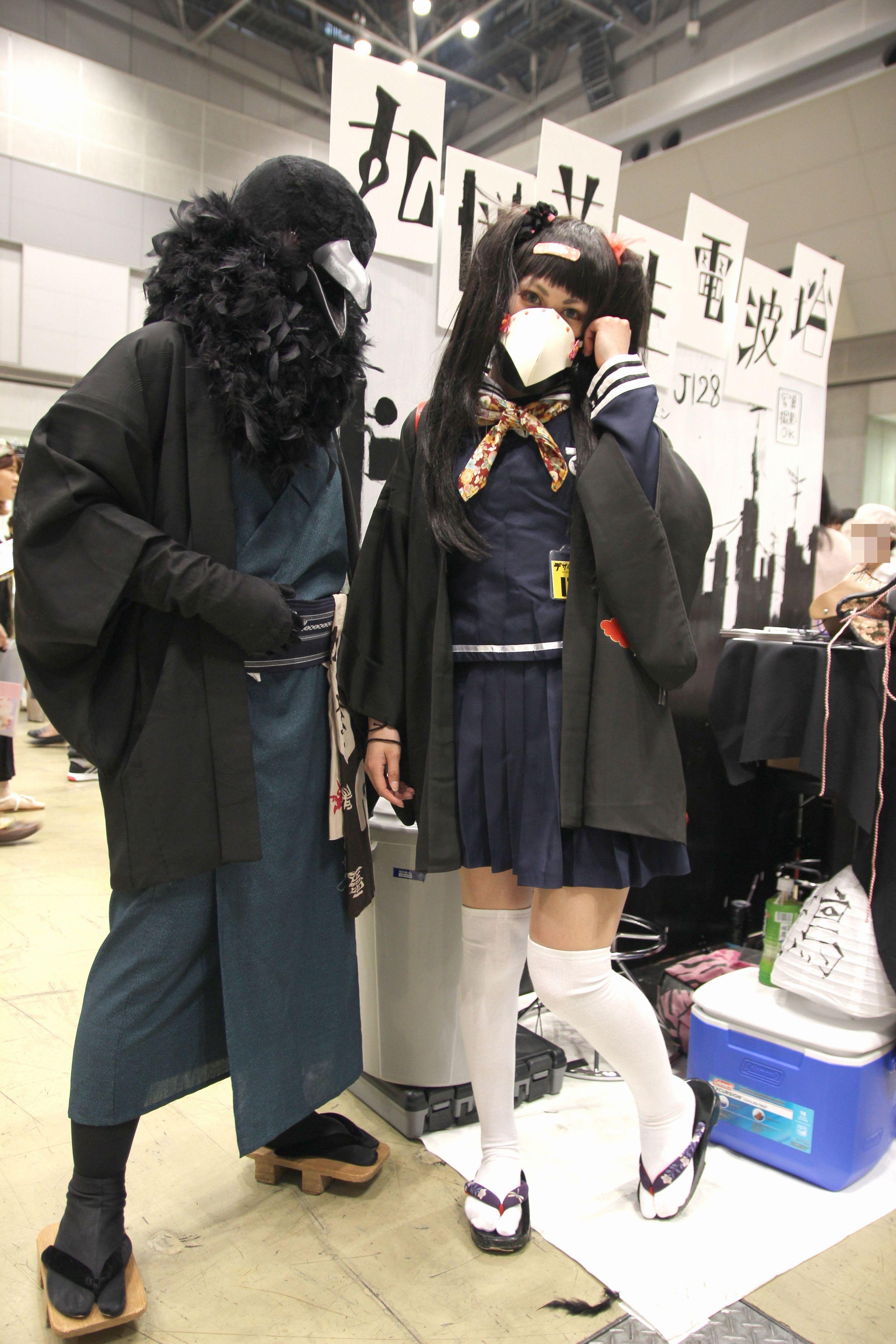 デザインフェスタvol.41@有明東京ビッグサイト<その1>~マスク・仮面の世界~ペストマスク・ガスマスク・カラスマスク・プロレスマスク・狐面~