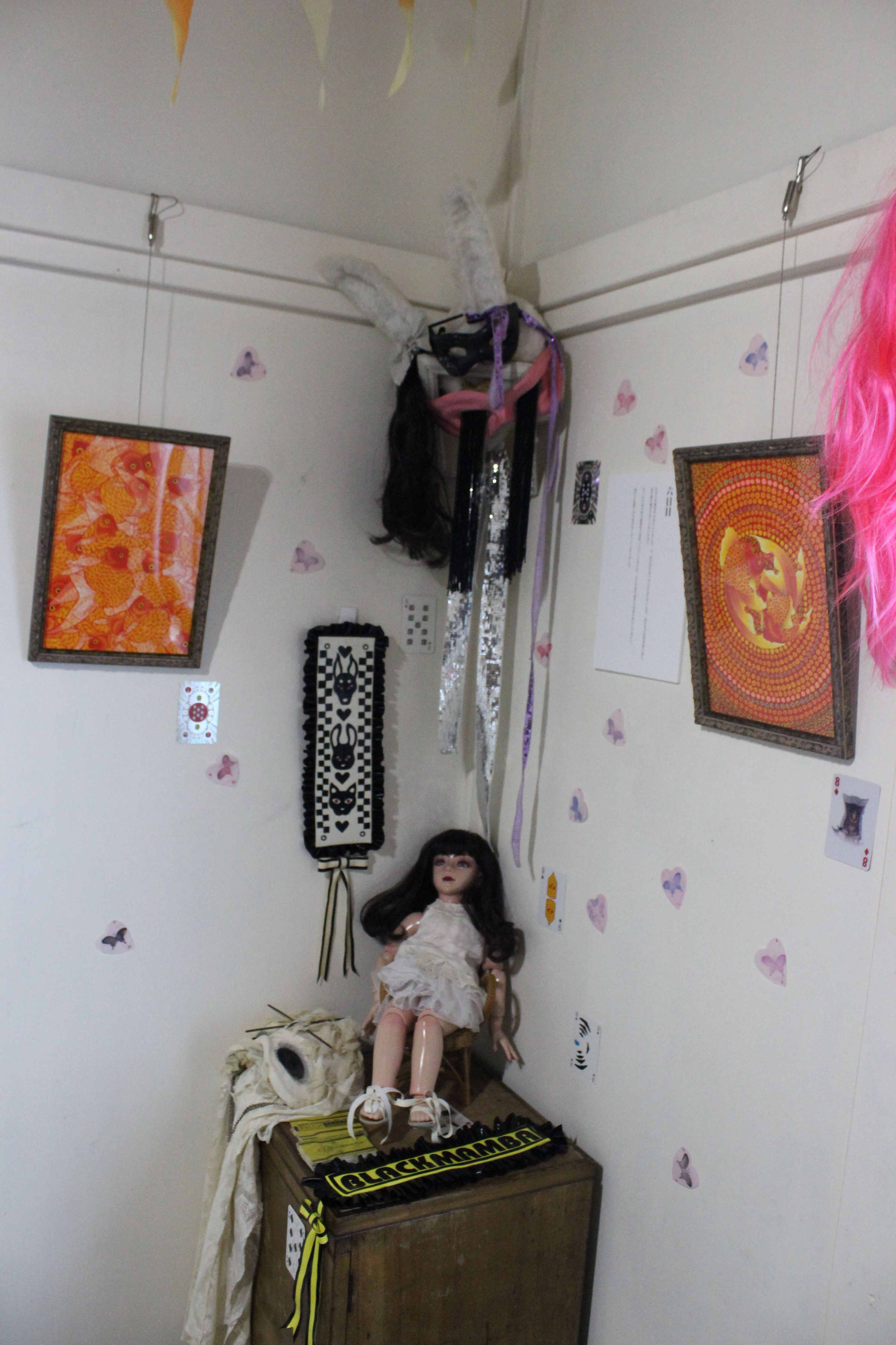 ノスタルジーの庭~ギャラリー202号室二周年記念グループ展~個性的な作品達が織り成す絵本の世界で癒しのひとときを楽しむ~