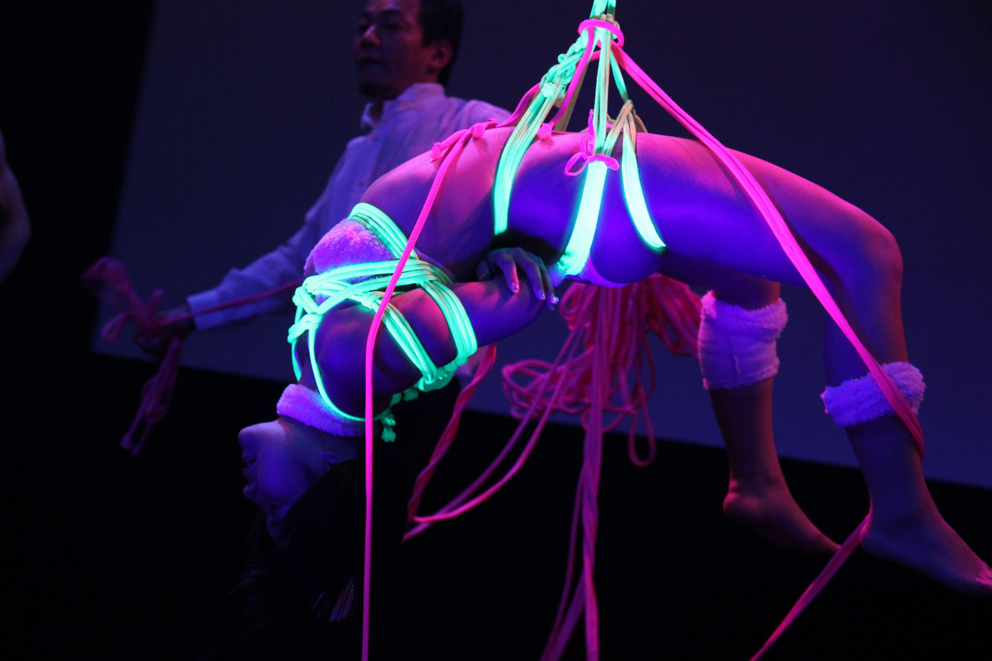 デパートメントH 2099@鶯谷東京キネマ倶楽部 2015年3月~一鬼のこ氏のサイバーロープパフォーマンス~