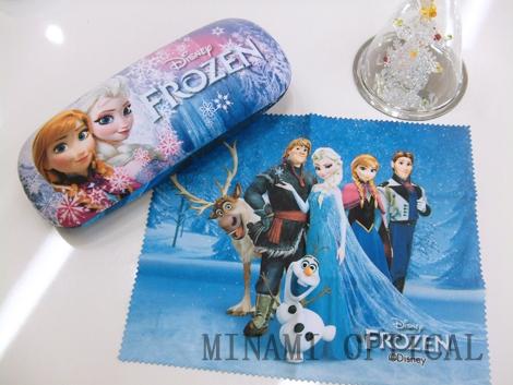 アナと雪の女王 メガネケース 1