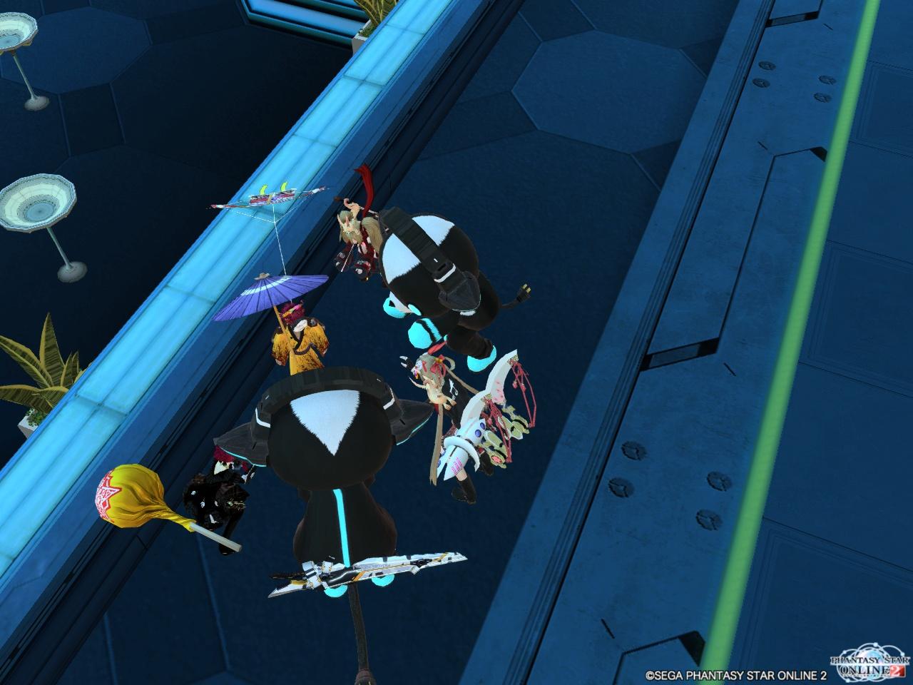 【船4】みら、変な人(アイオ)を囲む