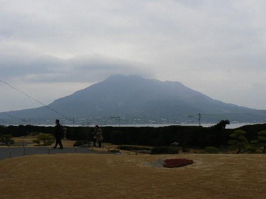 2202仙巌園からの桜島