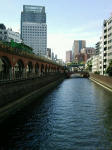 万世橋からの風景