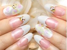 ホワイト花