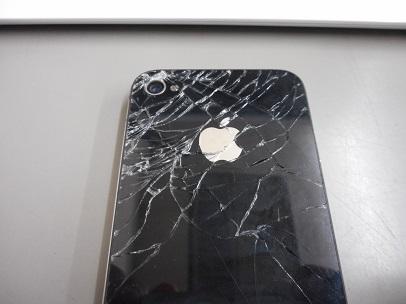 iphone4割れ