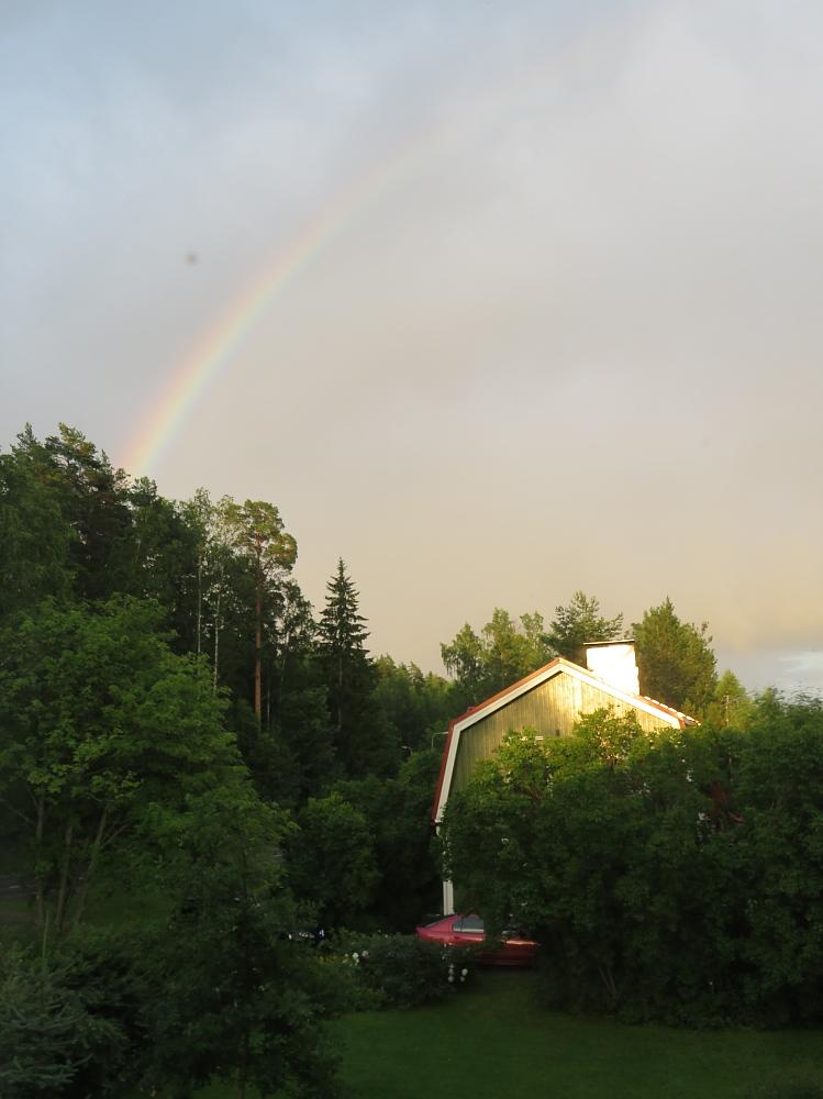 Satenkaari 虹 Rainbow
