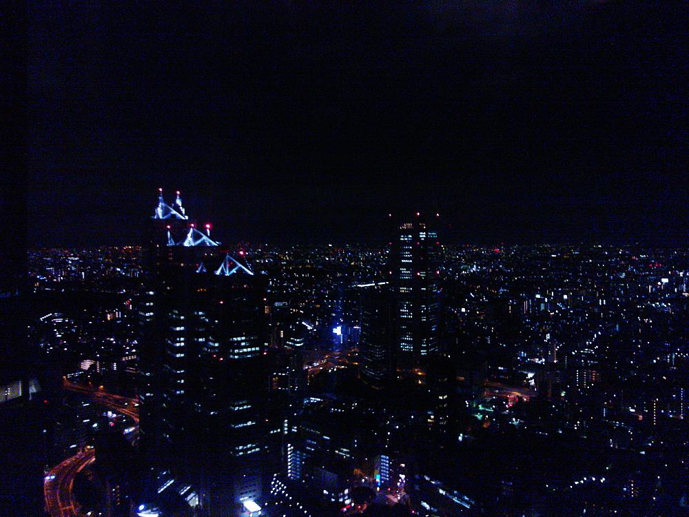 Tokyo Tokio 都庁舎 夜景